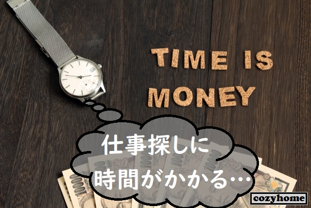 腕時計と1万円札